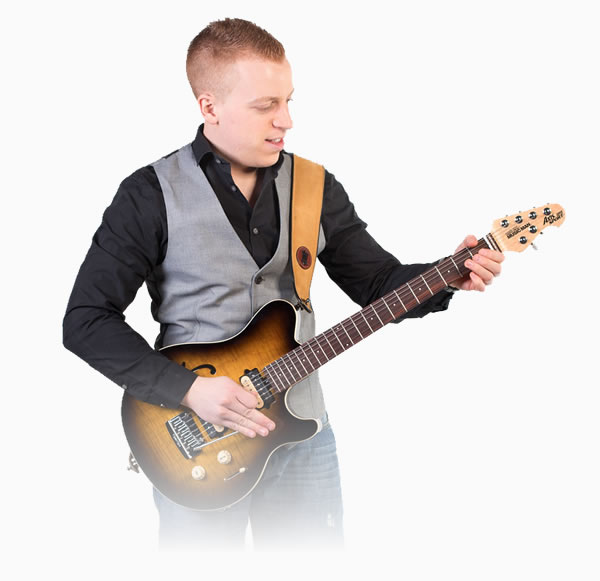 Richard Hillyer - Professional Performances - Playing the guitar