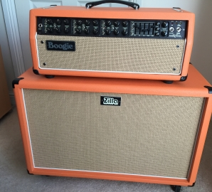 Mesa Boogie Mark V – Recovered In Orange – By Zilla